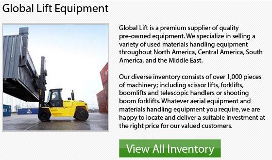 Caterpillar High Capacity Forklifts
